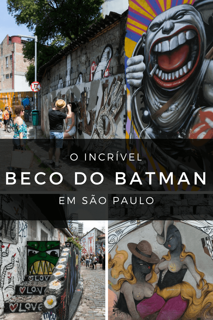 Beco do Batman, em São Paulo