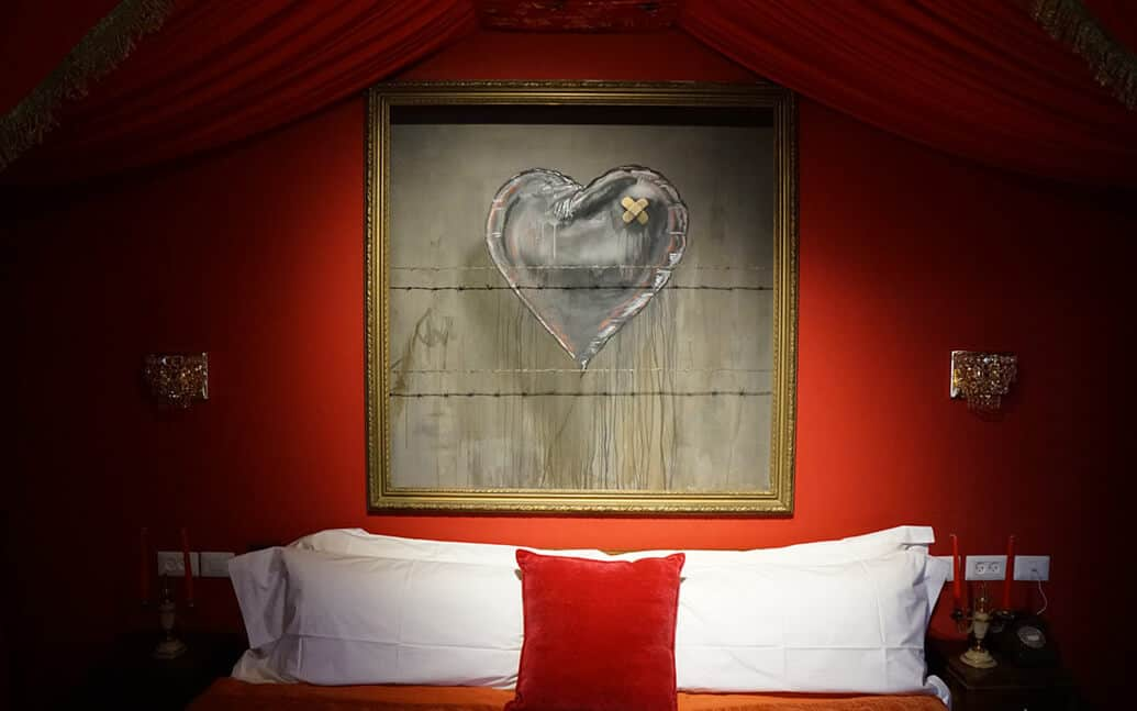 Banksy e The Walled Off Hotel
