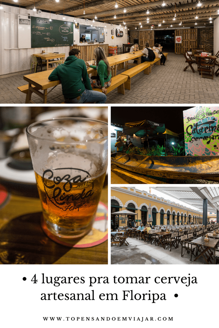4 lugares pra tomar cerveja artesanal em Floripa