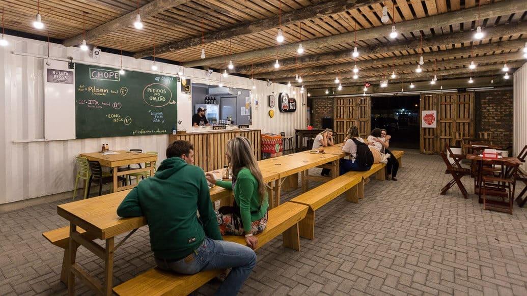 cerveja artesanal em Floripa