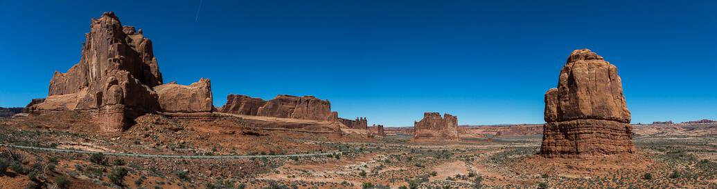 Dia no Arches e Canyonlands