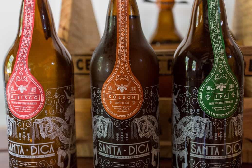 Santa Dica, a cerveja artesanal de Pirenópolis