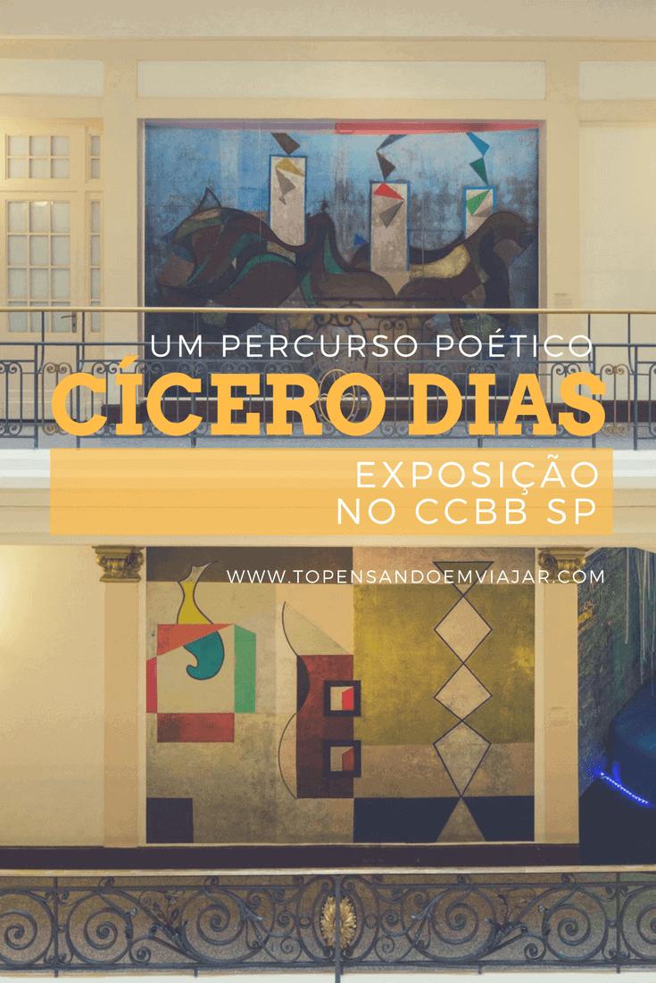 Exposição no CCBB em SP: Cícero Dias, um percurso poético.