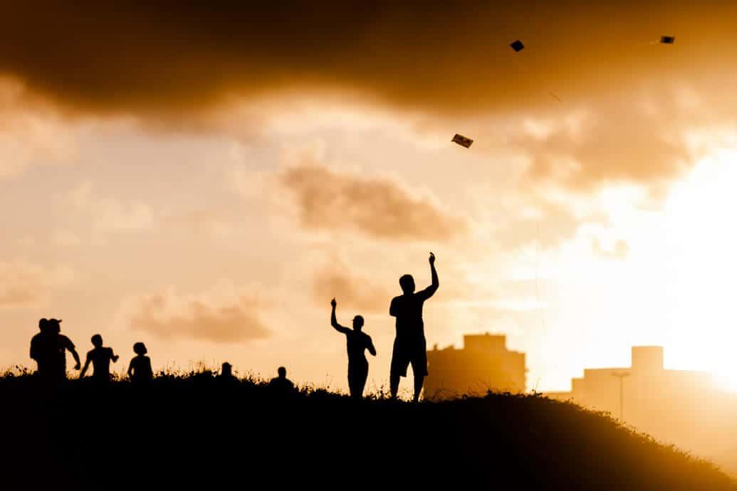 Fotografar o pôr do sol