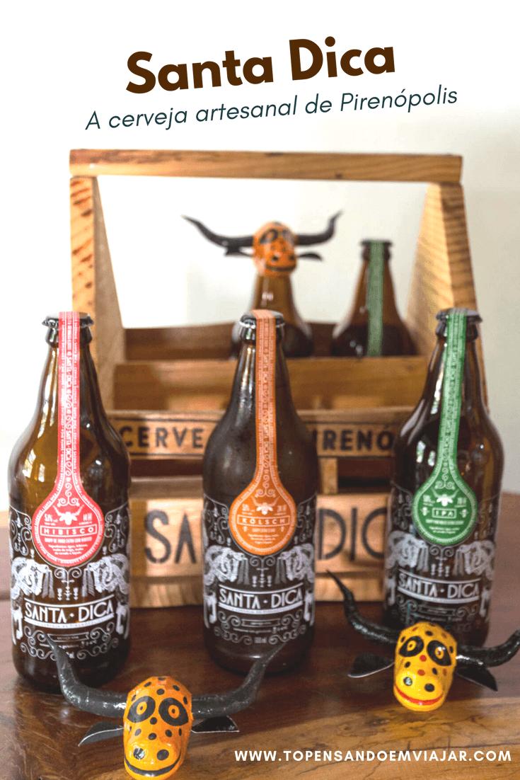 Santa Dica, a cerveja artesanal de Pirenópolis, GO