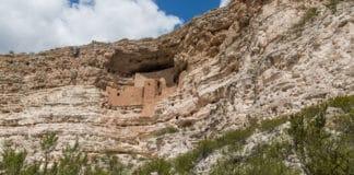 Montezuma Castle: ruínas de um antigo povo no Arizona