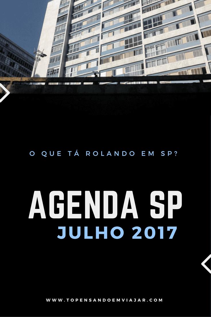 agenda sp julho