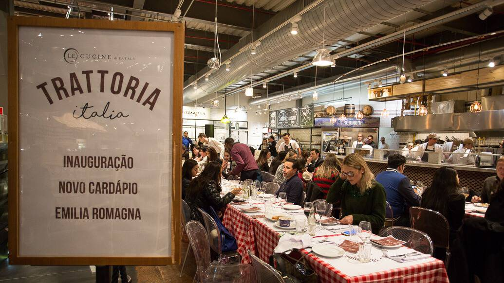Trattoria Italia no Eataly SP