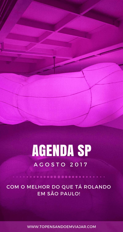 Agenda SP Agosto 2017