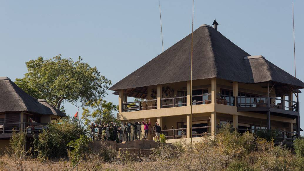 Makumu Private Game Lodge, na reserva Klaserie, Hoedpruit, África do Sul