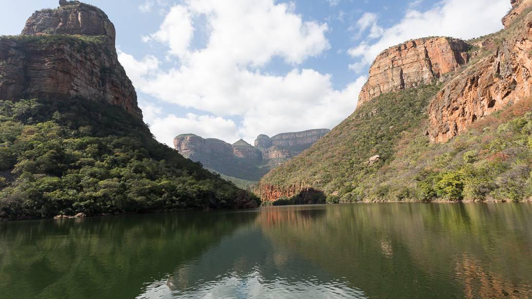 Passeio de barco no Blyde River Canyon, na África do Sul