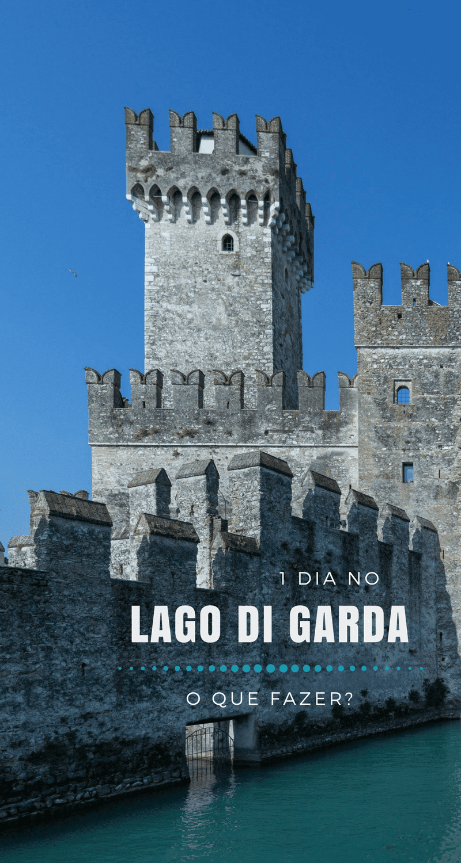 Procurando dicas do que fazer em 1 dia no Lago di Garda, na Itália?! Dá uma olhada nesses 3 roteiros possíveis e diferentes.