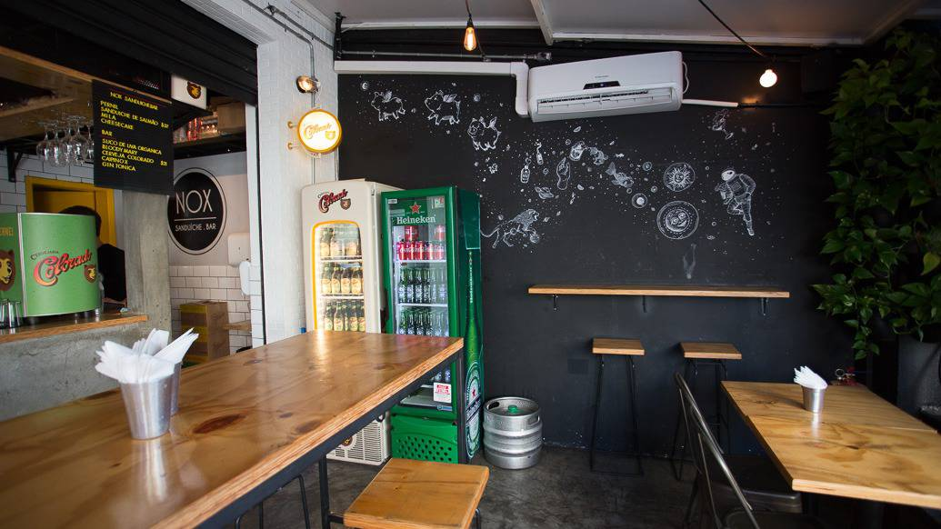 Nox Sanduíche Bar em SP
