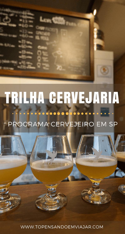 TRILHA Cervejaria, novidade em Perdizes