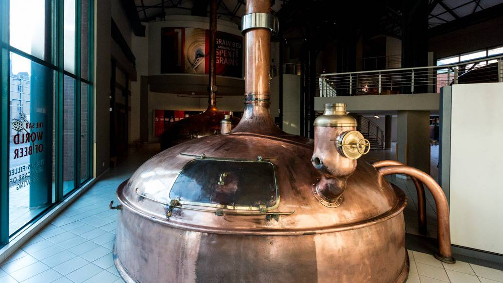 Museu da Cerveja: SAB World of Beer em Joanesburgo