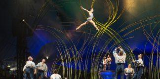 Amaluna, espetáculo do Cirque du Soleil