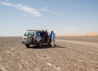 Passeio de 4x4 no deserto do Saara, no Marrocos