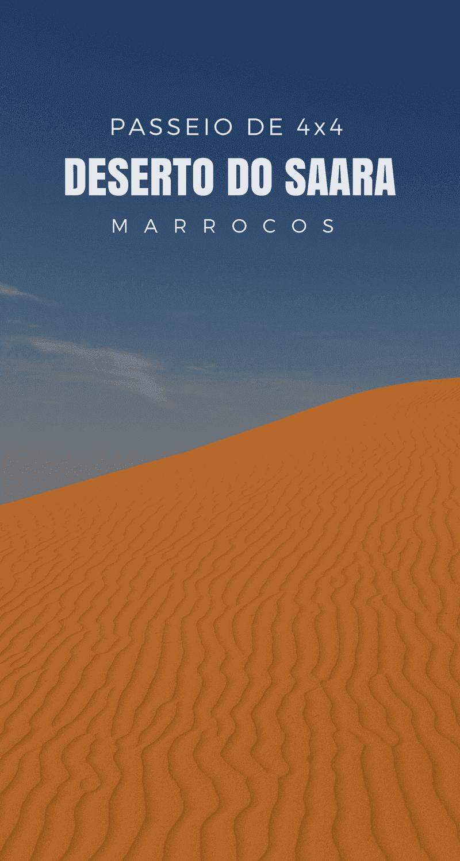 Vamos explorar o Deserto do Saara no Marrocos em um passeio de 4x4 pelas dunas Erg Chebbi, atravessando o antigo percurso do Paris-Dakar!