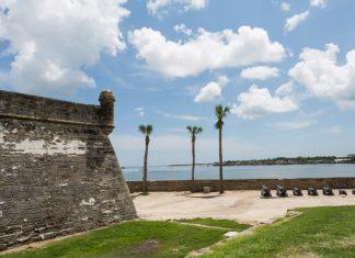 Castillo de San Marcos, o forte de St. Augustine, Flórida