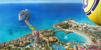Cococay, a ilha da Royal Caribbean nas Bahamas