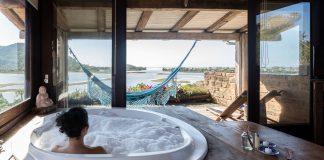 Hospedaria Ponta da Piteira: conforto e vista espetacular em Ibiraquera, litoral sul de SC