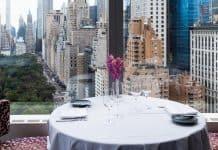 Brunch em NY no Restaurante Asiate do Hotel Mandarin Oriental
