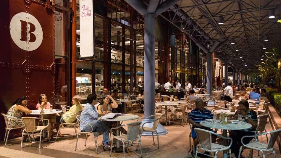 Dica do que fazer em Belém: restaurantes na Estação das Docas