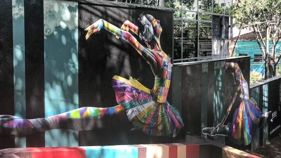 Bailarinas do Kobra em SP