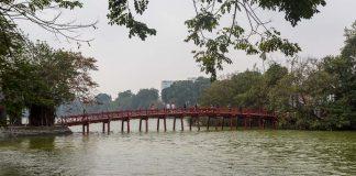 Lago Hoan Kiem em Hanói e a lenda da tartaruga sagrada do Vietnã
