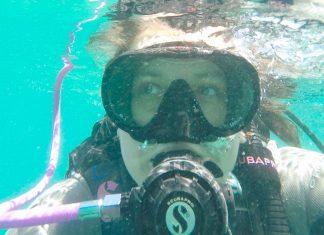 A experiência do primeiro mergulho em Palm Beaches