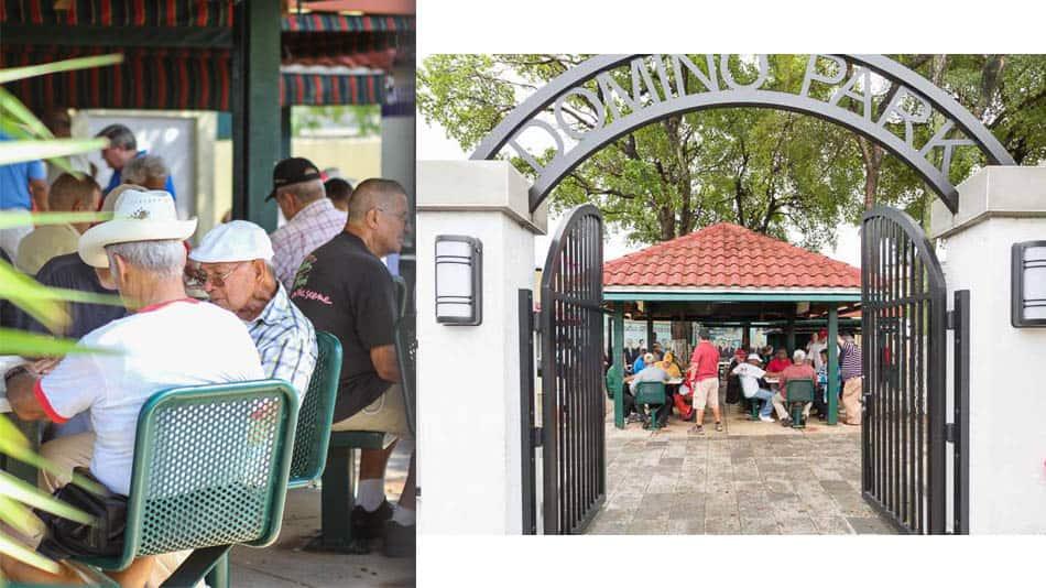 Domino Park em Little Havana, Miami