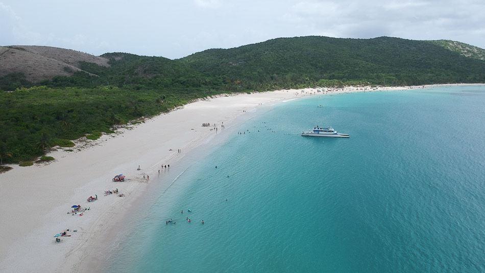 Playa Flamenco, em Porto Rico
