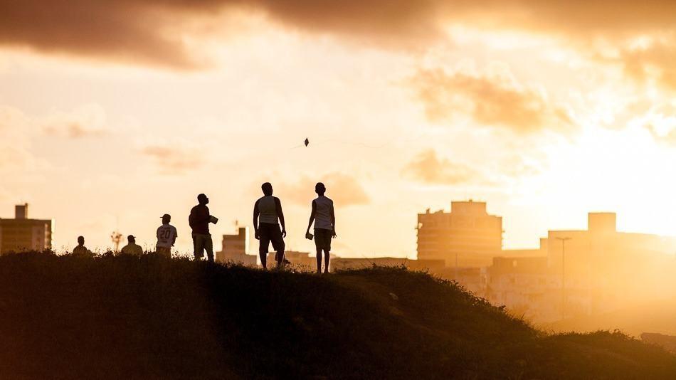Pôr do sol em Salvador, Bahia