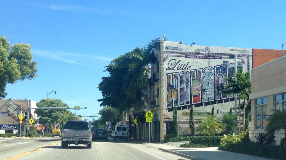 Mural em Little Havana, Miami