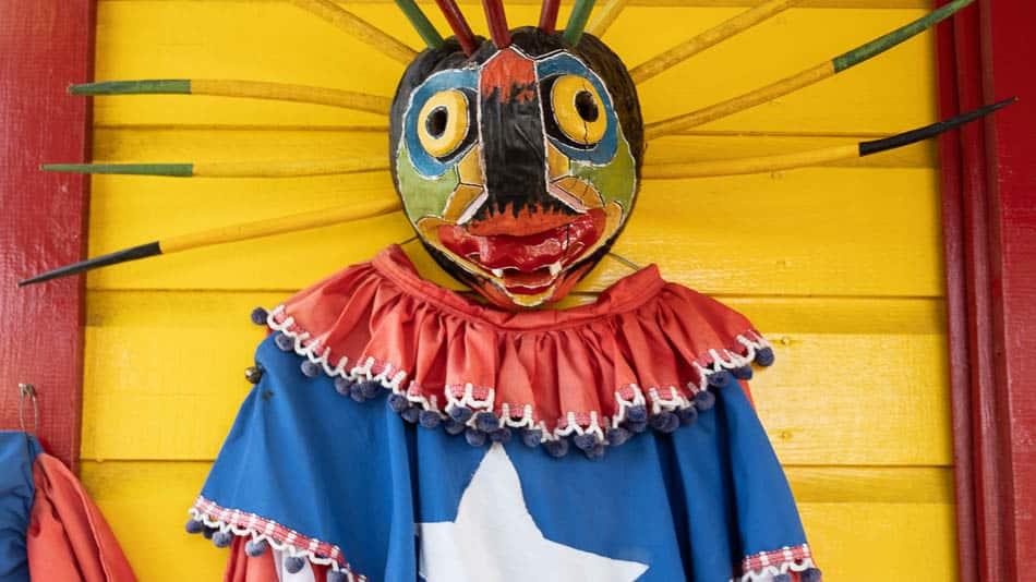 Vejigante, em Loíza, Porto Rico