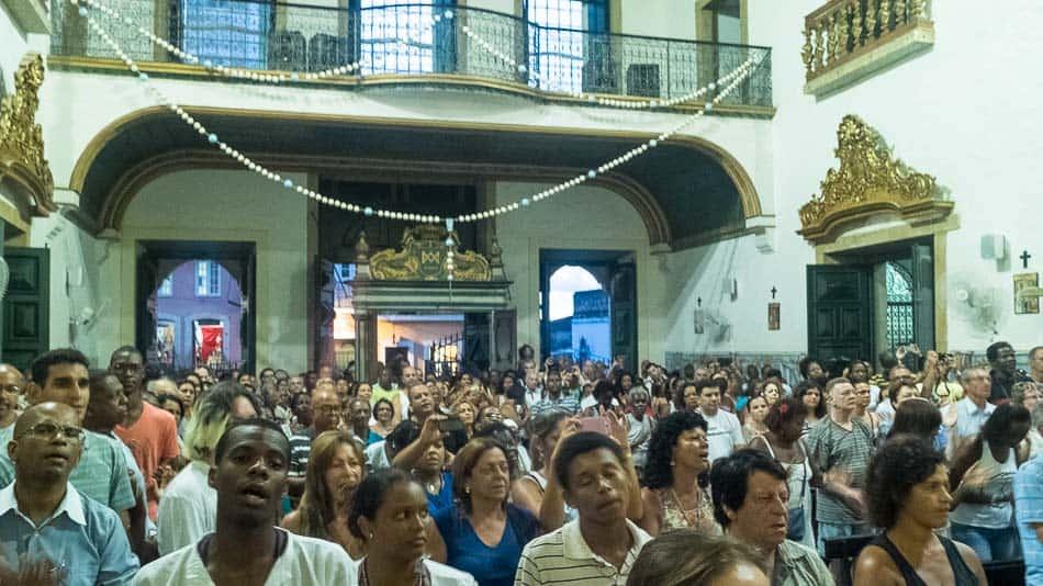 Missa Afro no Pelourinho, em Salvador