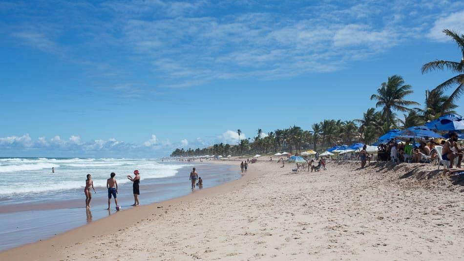 Praia em Salvador, Bahia