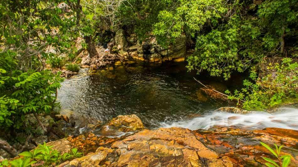 Cachoeira do Paraíso, em Natividade, no Tocantins