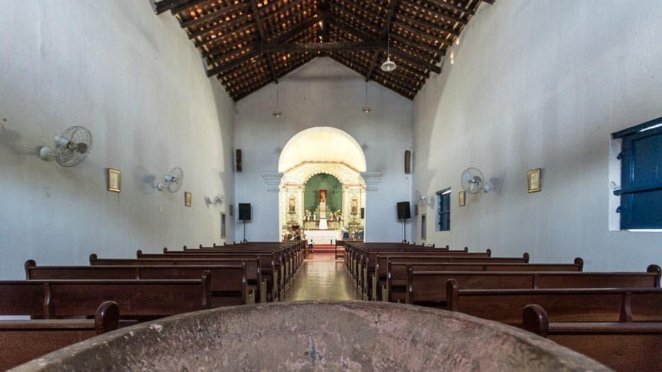 Interior da Igreja Matriz de Natividade, Tocantins