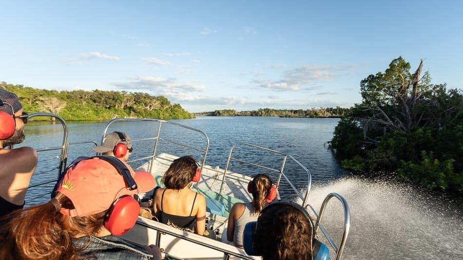 Dica de passeio de airboat na Flórida: Golfo do México
