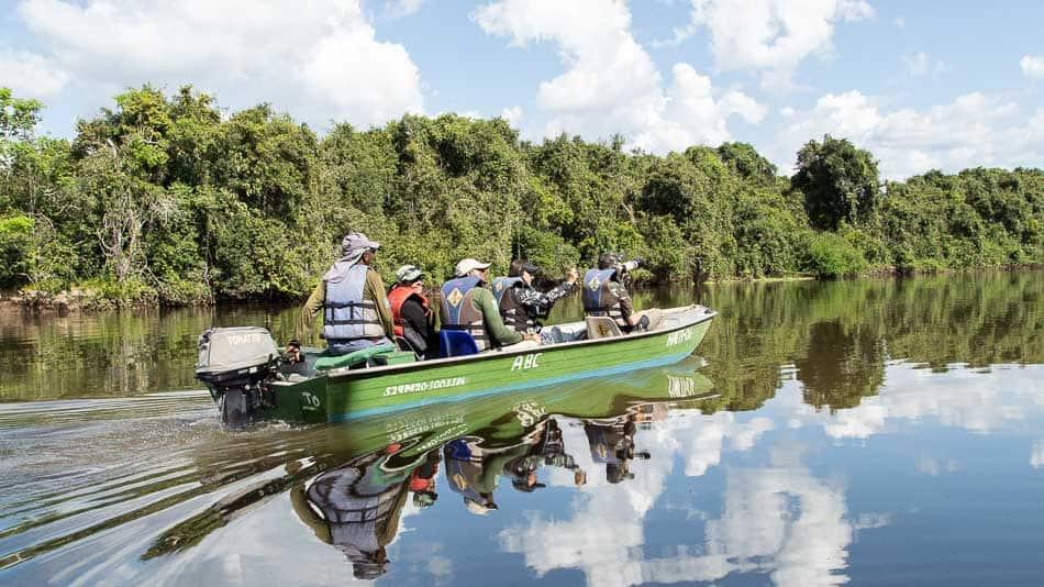 Passeio de barco pelo Cantão, no Tocantins