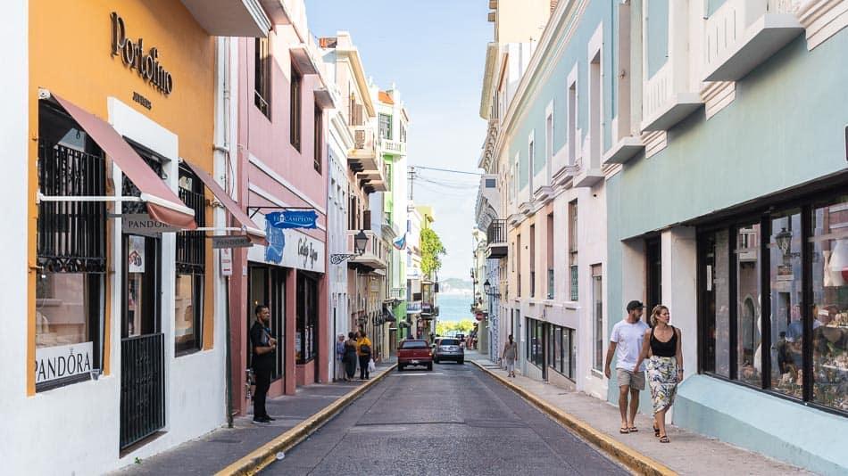 Dica do que fazer em Porto Rico: caminhar pelas ruas de Old San Juan