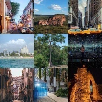 Best Nine do Instagram do Tô Pensando em Viajar