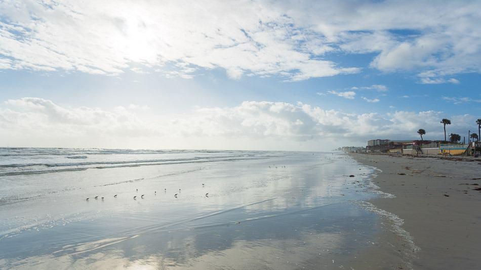 Praia em Daytona Beach, Florida