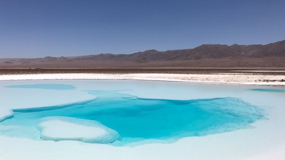Lagunas Escondidas de Baltinache, Atacama, Chile