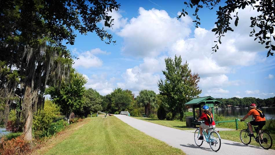 Withlacoochee Trail, em Inverness, perto de Crystal River
