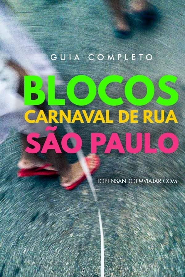 Confira a programação completa dos blocos do carnaval SP 2020