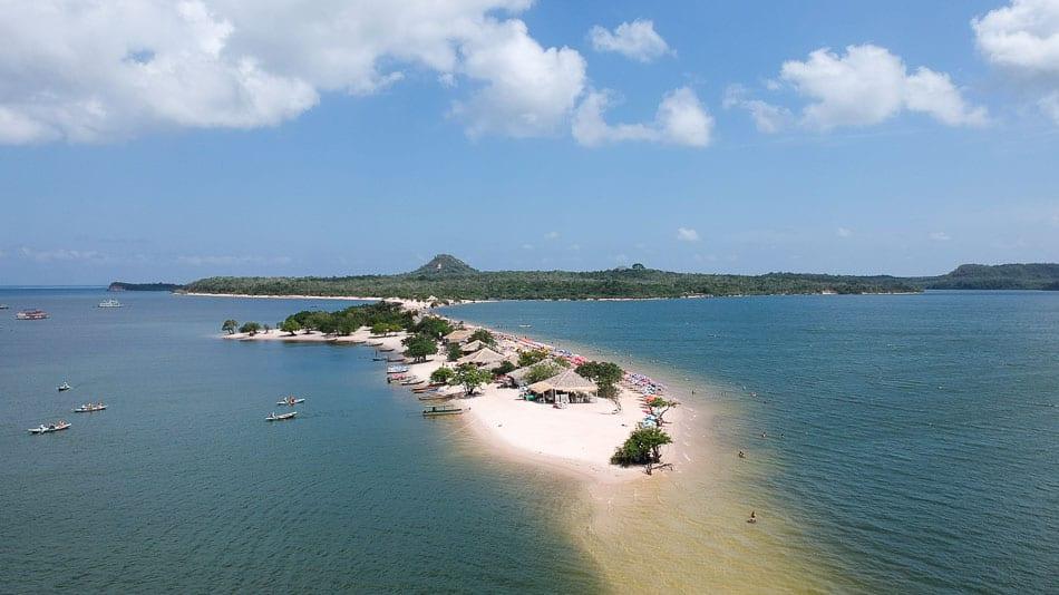 Ilha do Amor: praia em Alter do Chão, Pará