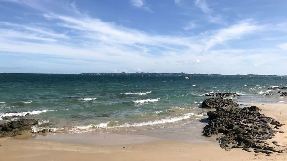 As melhores praias da Ilha dos Frades em Salvador