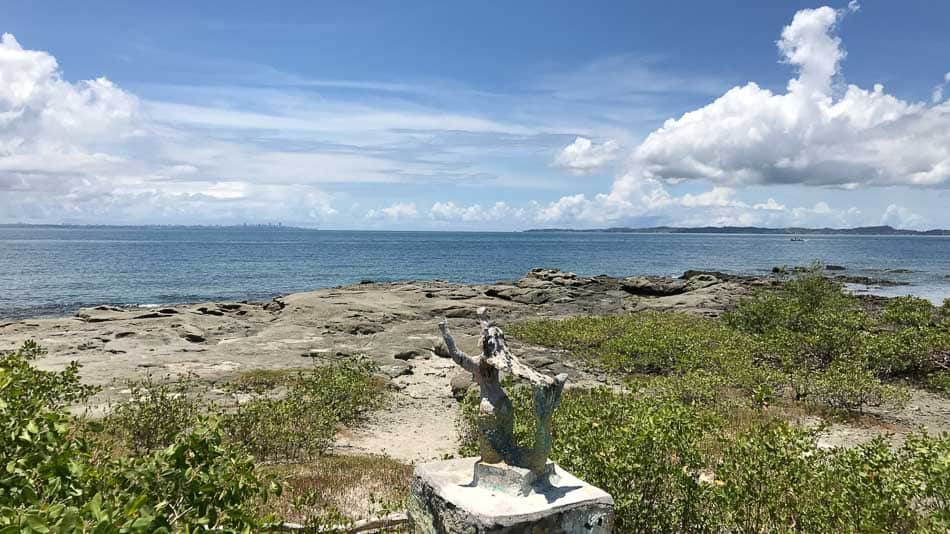 Vista da Ilha dos Frades em Salvador